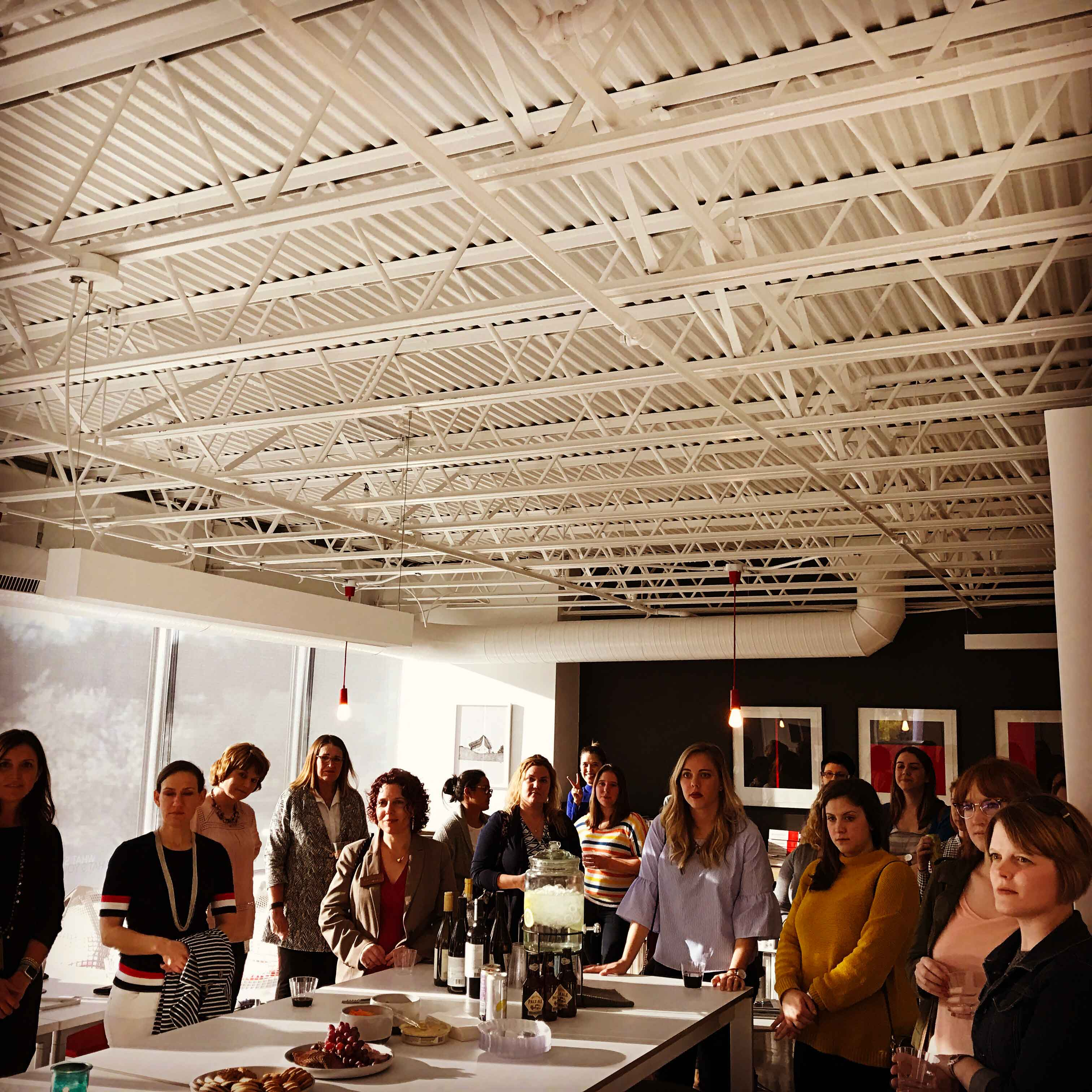 AIA KC Women in Design Happy Hour hosted by Odimo in March 2017.